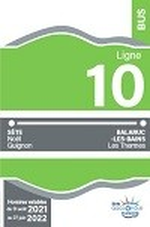 Ligne N°10 Balaruc-Sete-Balaruc Hiver