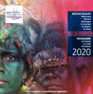 Programme Médiathèque Sète Agglopole Septembre à Novembre 2020
