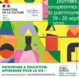 Journée Européennes du Patrimoine 2020 - Sète Archipel de Thau