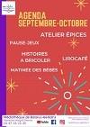 Programme Médiathèques Septembre à Octobre Sète Agglopôle