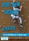 Sport Anim'Vacances - Hiver 2018
