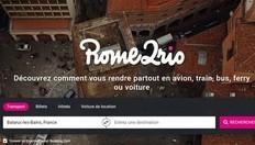 """Appli coup de coeur Balaruc Tourisme ! """"Rome2Rio"""""""