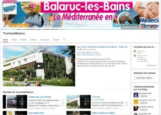 "Chaîne Youtube ""Balaruc-les-Bains"""