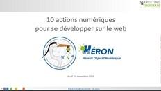 10 actions numériques pour se développer sur le web