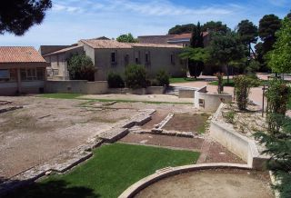 Les vestiges de la basilique gallo-romaine