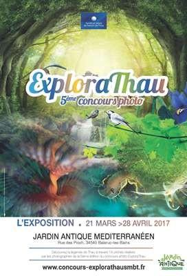 Affiche Explorathau Jardin Antique Méditerranéen