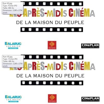 APRES MIDI CINEMA MAISON DU PEUPLE BALARUC LES BAINS