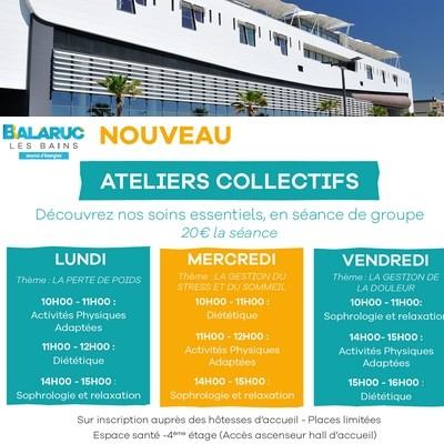 ATELIERS COLLECTIFS THERMES DE BALARUC LES BAINS