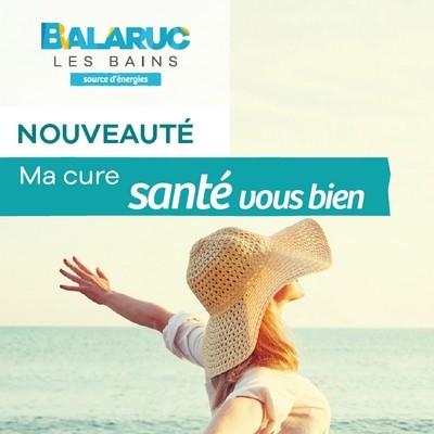 CURES SANTE VOUS BIEN THERMES DE BALARUC LES BAINS