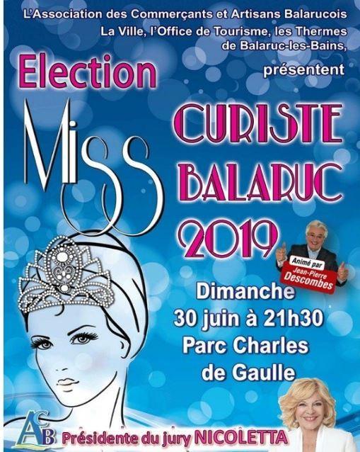 ELECTION MISS CURISTE 2019 BALARUC