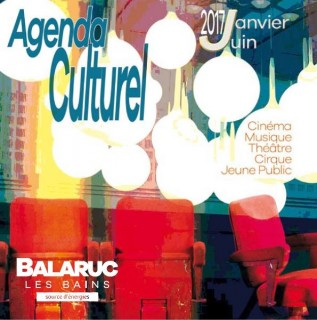 Agenda culturel de Balaruc-les-bains - Janvier à juin 2017