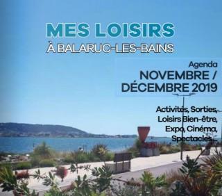 Agenda des Loisirs - Novembre et Décembre 2019