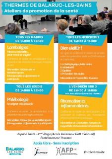 Atelier Promotion Santé 2017