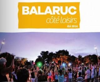 Balaruc côté Loisirs - Eté 2016