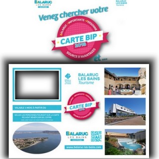 Carte BIP 2018 Balaruc les Bains