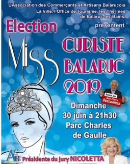 ELECTION MISS CURISTE 2019 BALARUC