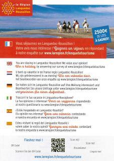 Enqu�te de client�le Languedoc Roussillon