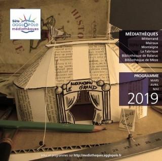 MEDIATHEQUE SETE AGGLOPOLE MARS MAI 2019