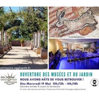 Ouverture Musées Sète Agglopole Méditerranée