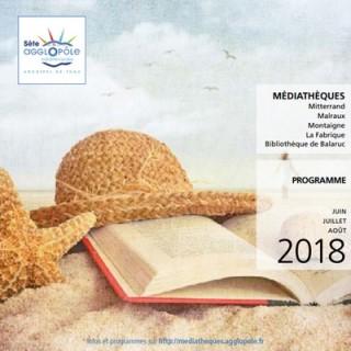 Programme Médiathèque Juin-Juillet-Août 2018
