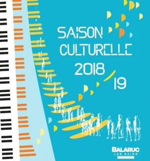 SAISON CULTURELLE 2018 2019 BALARUC LES BAINS