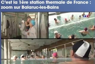 Les Thermes de Balaruc-les-Bains sur TF1