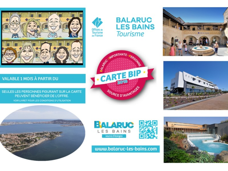 Carte BIP 2018 Source d'avantages à Balaruc-les-Bains