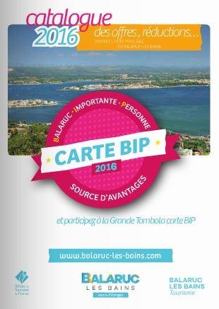 Carte b i p source d 39 avantages - Office de tourisme balaruc les bains ...