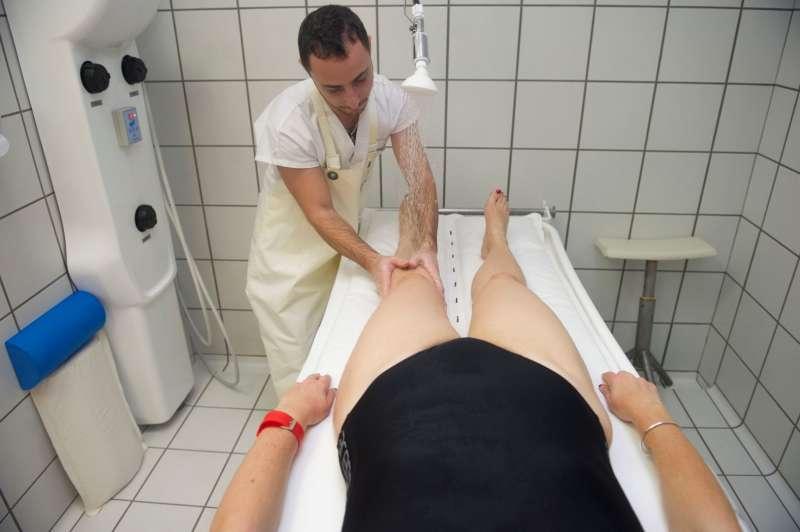Massage sous l'eau Phlébologie Thermes de Balaruc les Bains