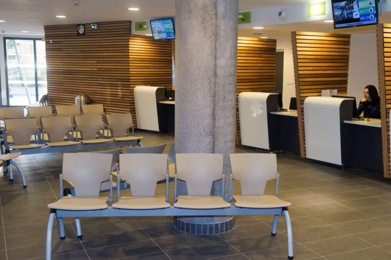 Salle d'attente Accueil-Réservation Thermes de Balaruc-les-Bains