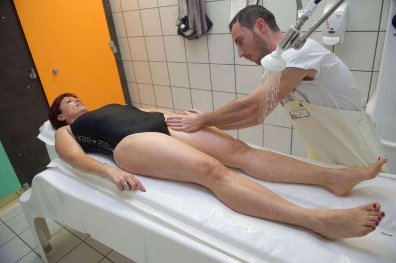 Soins de Phlébologie Massage sous l'eau Thermes de Balaruc-les-Bains