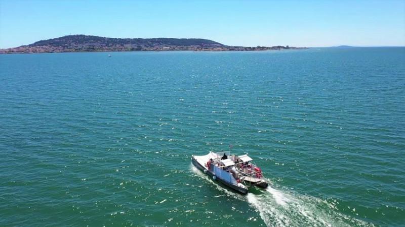 Navette bateau EcoThau Balaruc-les-Bains