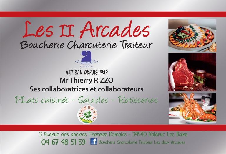 Boucherie Les 2 Arcades Balaruc Bains