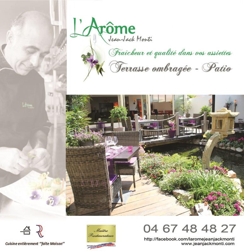L'Arôme restaurant de Balaruc-les-Bains