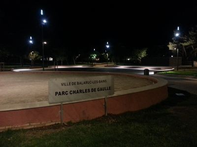 PARC CHARLES DE GAULLE BALARUC LES BAINS