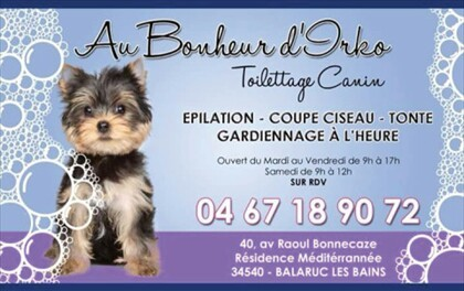 Commerces Toilettage Canin Balaruc Les Bains