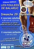 Affiche Foulées de Balaruc Courses 2019