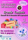 Affiche Tombola des Foulees de Balaruc 2019