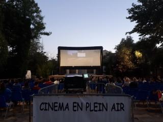 Cinema en plein air Balaruc les Bains