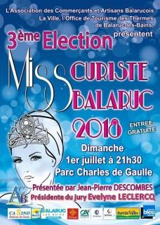 ELECTION MISS CURISTE BALARUC 2018