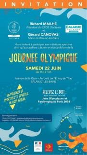 JOURNEE DE L'OLYMPISME BALARUC LES BAINS