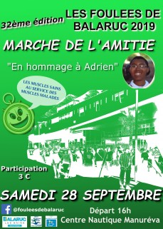 MARCHE DE L'AMITIE FOULEES DE BALARUC 2019