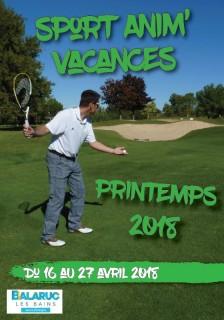 Sport Anim Vacances Printemps 2018