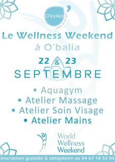 World Wellness Weekend à O'balia Balaruc les Bains