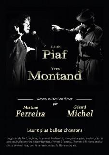 piaf-montand ©Gerard Michel