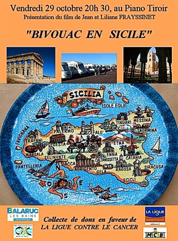 FILM BIVOUAC EN SICILE Jean et Liliane Frayssinet