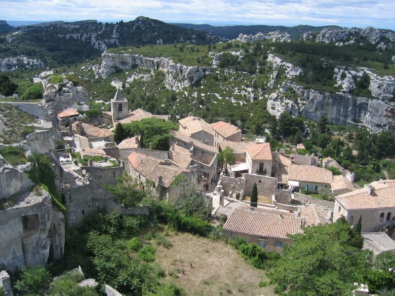 Les_Baux-de-Provence @wikipedia