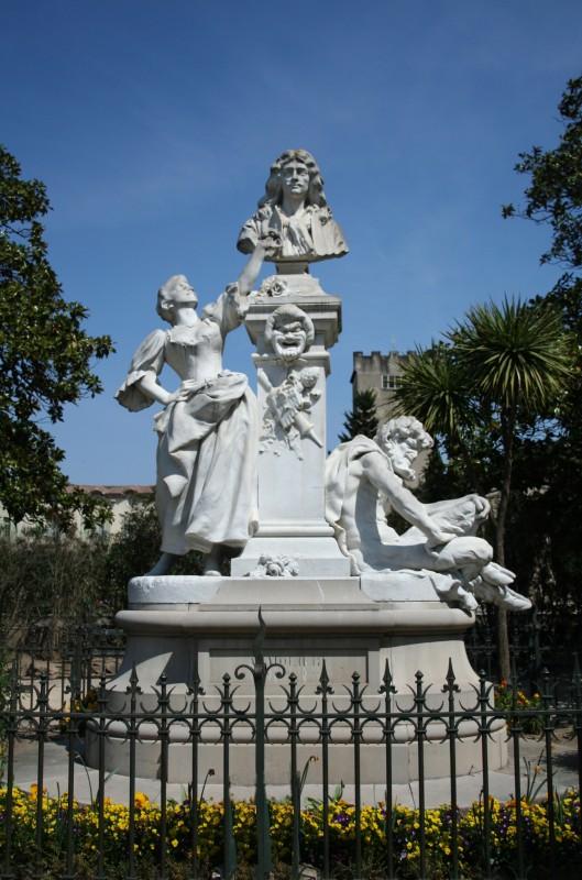 Pezenas_monument_Moliere ©wikipedia