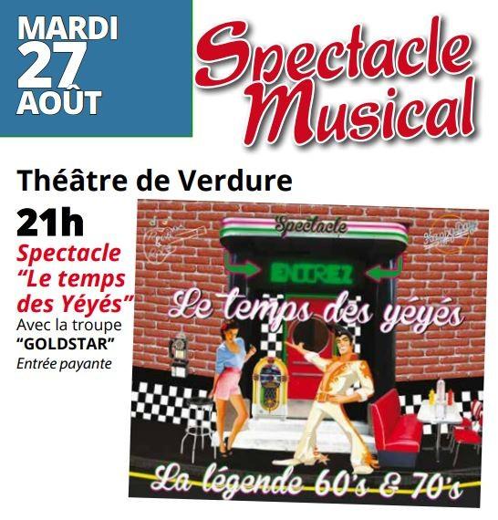 SPECTACLE MUSICAL AVEC LE COMITE DES FETES
