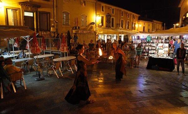 Sortie marché Mèze nocturne